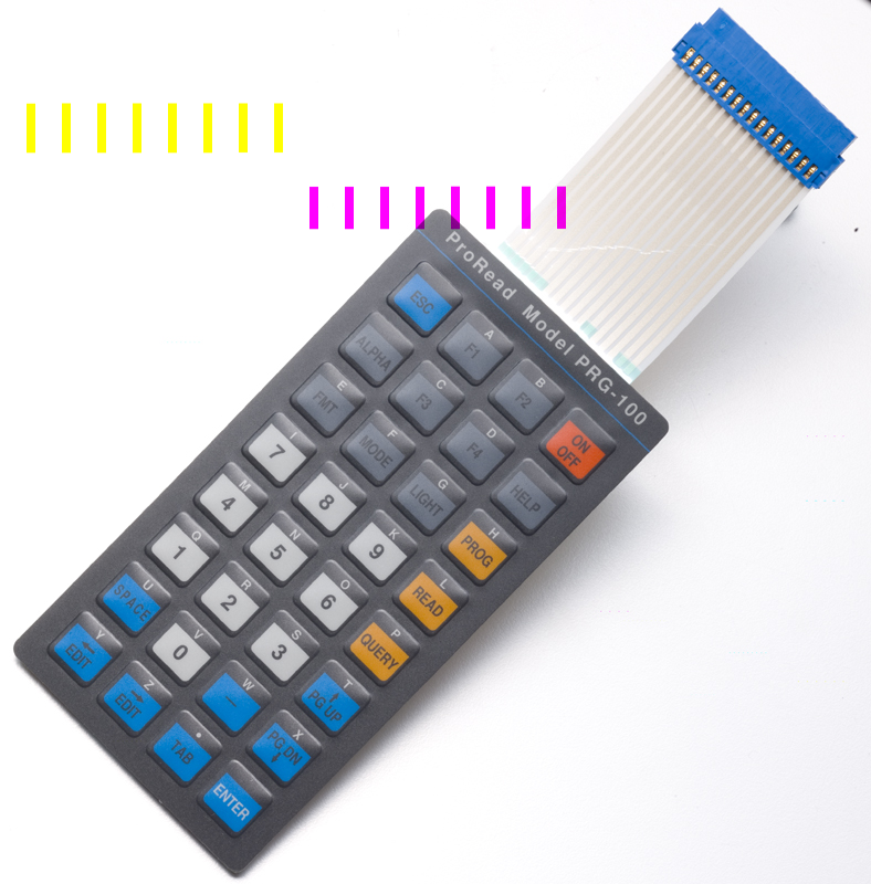 Samples Membrane Switch Panels Keypads Graphic