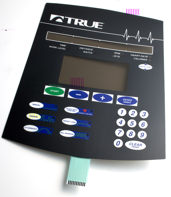 Membrane Switches for Fitness Equipment | Durability