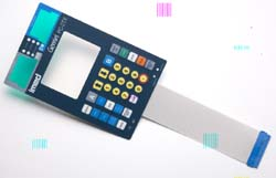 Membrane keypad for critical care medical infusion pump