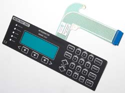 membrane keypad for electronic scales