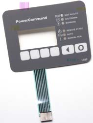 Micro Motion membrane switch used in outdoor power generating equipment