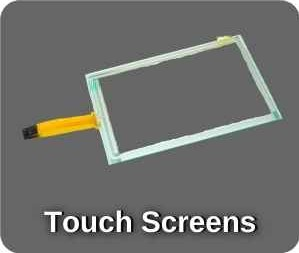 touch screens & touch screen terminals